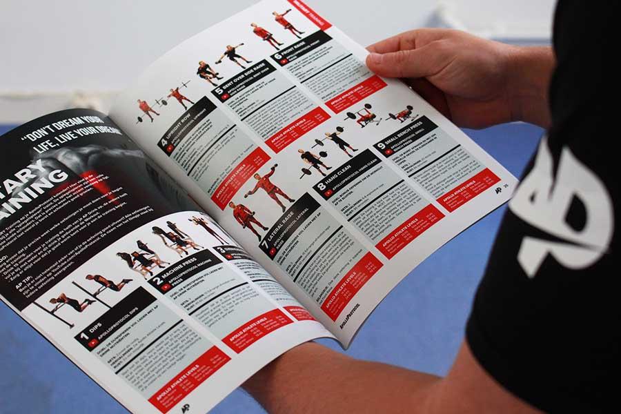 Dit is een professioneel fitness schema van ApolloProtocol.