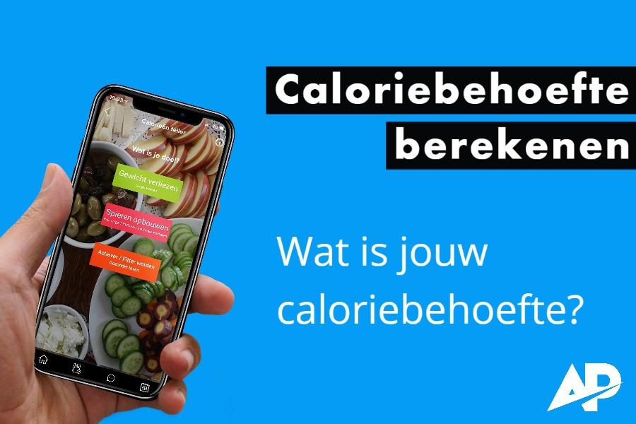 Je caloriebehoefte berekenen? Dat kan met een fitness app.