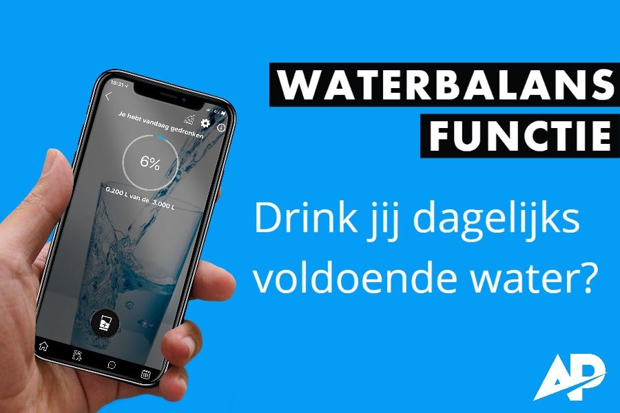 Hou bij hoeveel wat je drinkt met deze handige water drinken app.