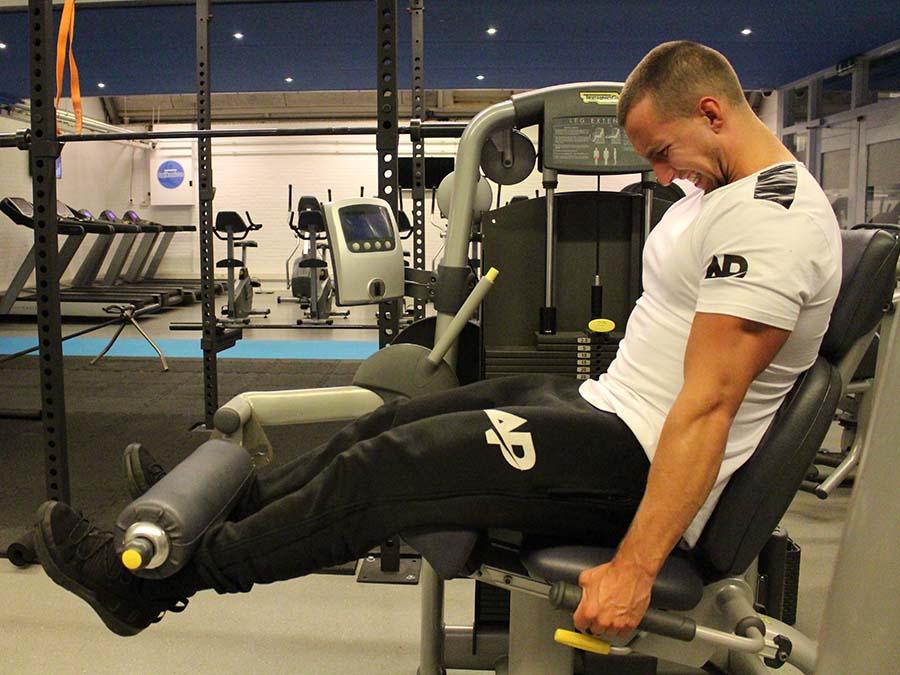 Benen trainen met een ApolloProtocol fitness schema.