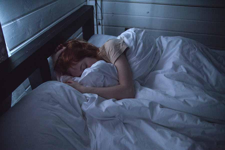Slapen is belangrijk voor spieren opbouwen.