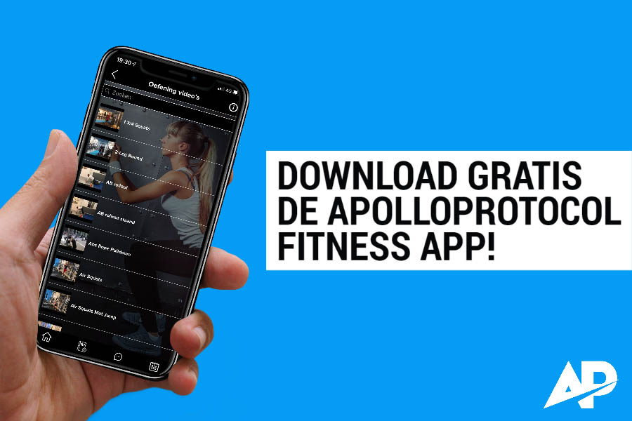 Download de beste gratis fitness app.