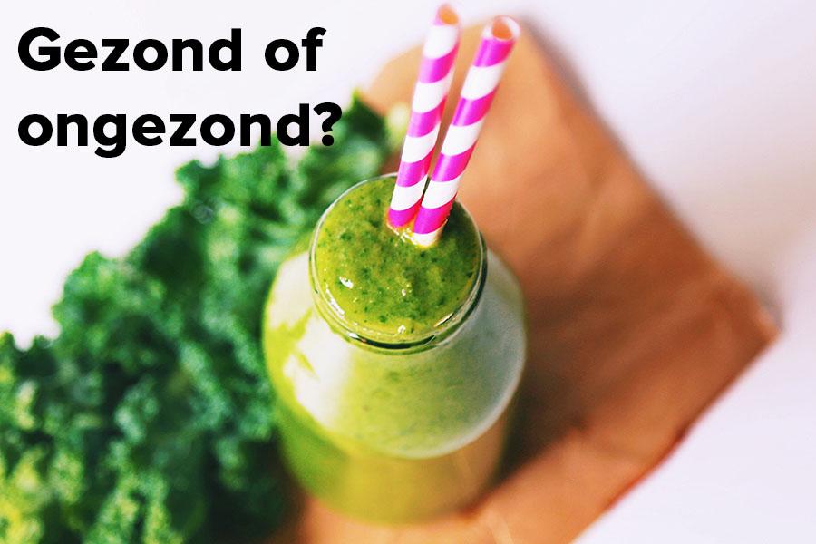 Zijn smoothies gezond of ongezond?