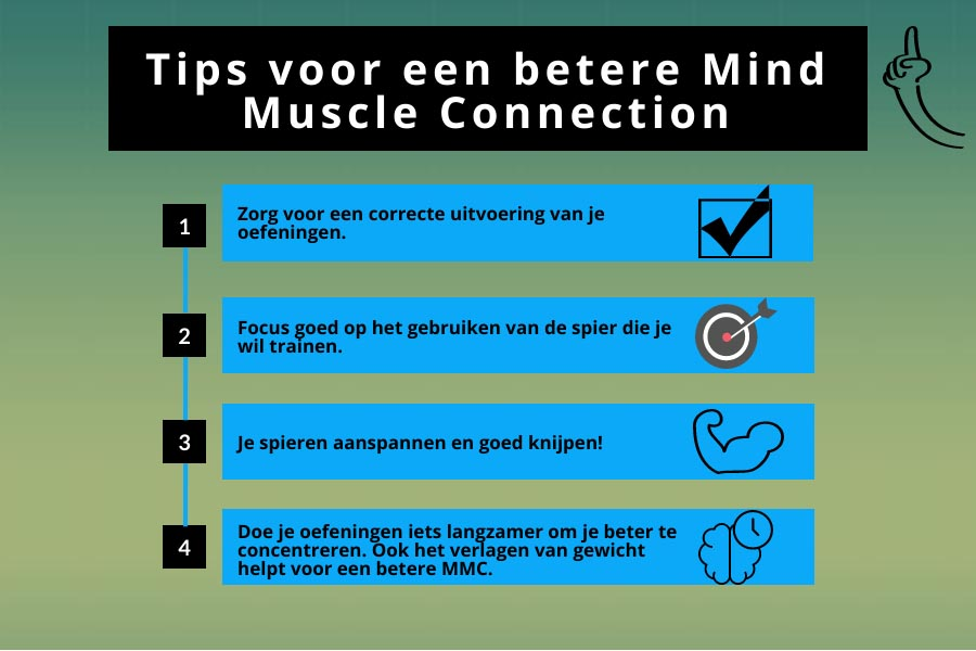 Tips voor een betere mind muscle connection
