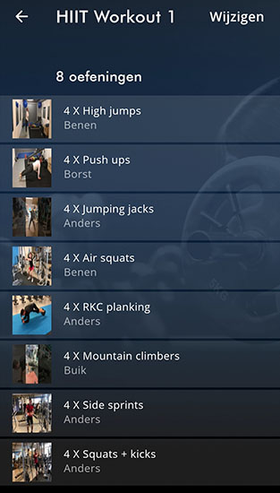 HIIT Workout 1 ApolloProtocol fitness app