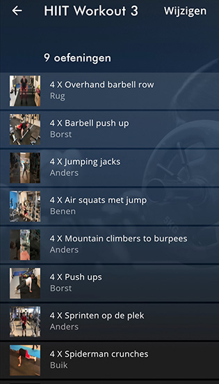 HIIT Workout 3 ApolloProtocol fitness app
