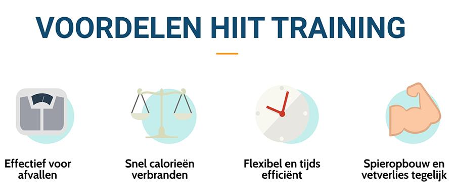 Voordelen van HIIT training
