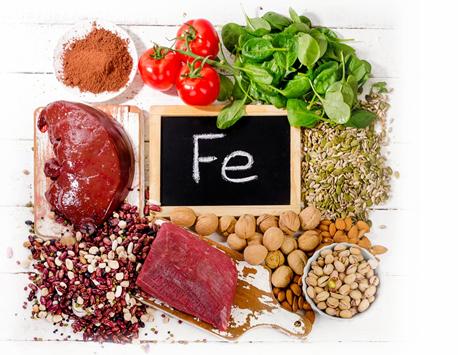 Voedingsadvies bij ijzertekort