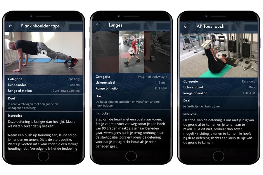 Beste gratis workout app met oefeningen uitleg