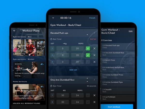 Een van de beste workout apps